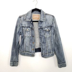 Express Denim Jacket Size S